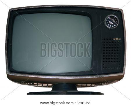 Vintage Tv W/Pfad