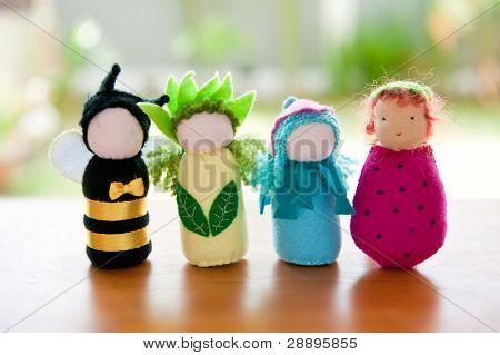 Handmade Waldorf Soft Toys.