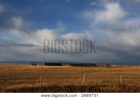 Wyoming Ranchland