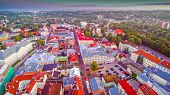 6692_amazing_aerial_view_of_the_urban_city_of_tartu.jpg poster