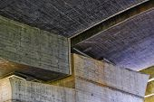Detail Of Bridge Construction - Trojan Bridge - Prague - Europe poster