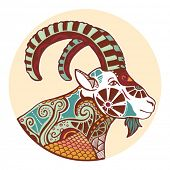 foto of capricorn  - Zodiac signs  - JPG