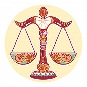stock photo of libra  - Zodiac signs  - JPG