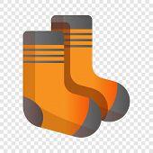 Ski Socks Icon. Cartoon Of Ski Socks Icon For Web Design For Web Design poster