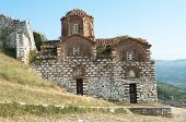 St. Trinity Church is a orthodox church inside Berat Citadel, Albania