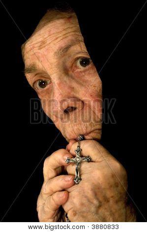 Old Catholic Woman