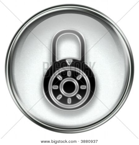 Lock Off, Icon Grey