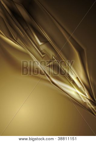 Abstract brown shapes background. Vector eps 10 design