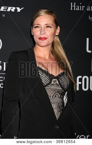 "LOS ANGELES - OCT 26:  DeeDee Pfeiffer arrives at ""The Pink Party '12"" at Hanger 8 on October 26, 2012 in Santa Monica, CA"