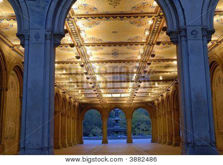 Central Park -Bethesda Terrace Arcade