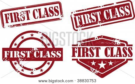First Class Rubber Stamp Collection