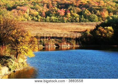 Otoño en el lago