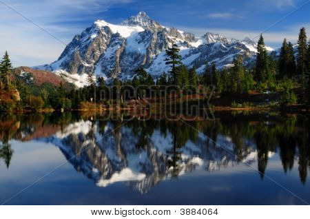 Close-Up Of Mt Shuksan