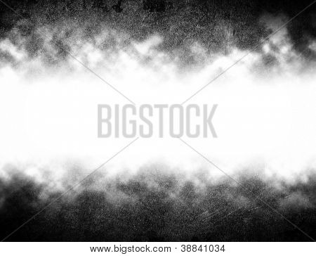 grunge background with white space