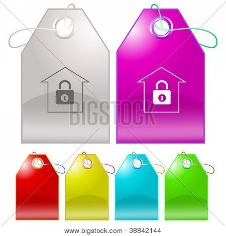 Bank. Raster tags. Vector version is in my portfolio.