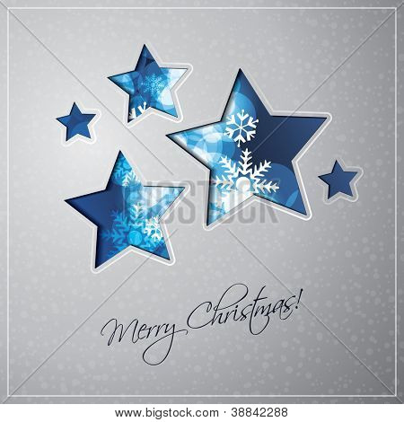 Christmas Star Background