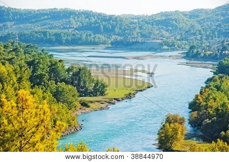 Manavgat River Valley. Turkey.
