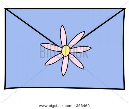 Letter Blue