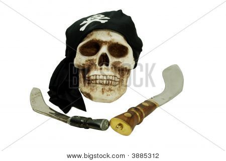 Pirate Skull And Daggers