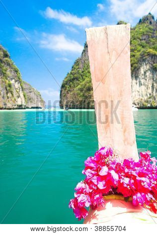 Thai Vessel Asian Boat