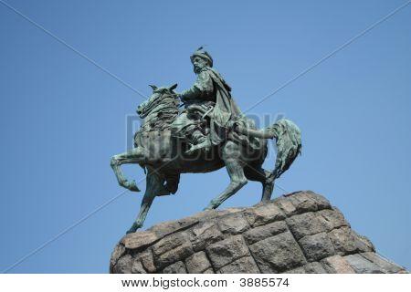 Bogdan Khmelnitskiy Monument.Kiev.