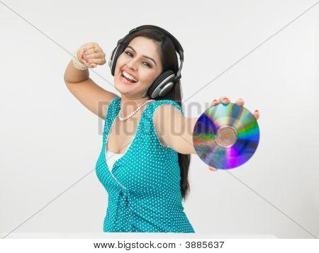 weibliche Kerbverzahnung zur Musik