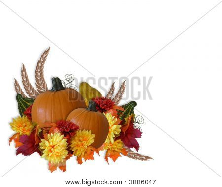 Thanksgiving Autumn Fall Background Graphic