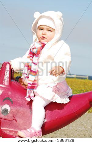 Kid On A Playground