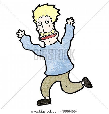 Vectores y fotos en stock de dibujos animados de hombre corriendo ...