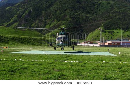 Aero Flying Up Russian Military Helicopter Mi-8