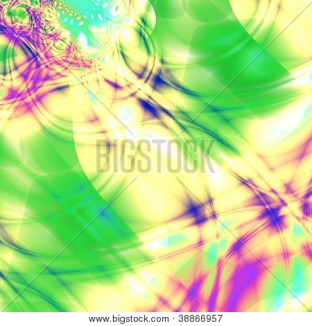 Multicolor grunge fantasy background