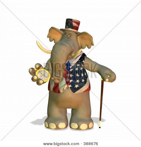 politische Elefant
