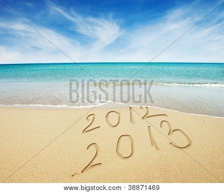 Neujahr 2013 kommt