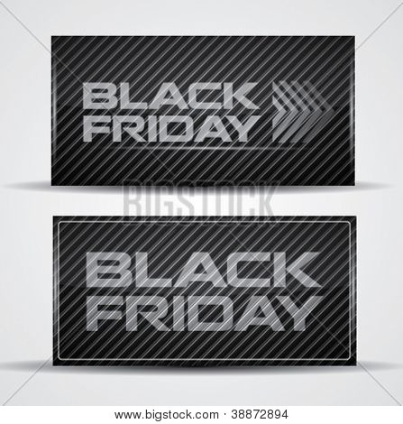Trendy Black Friday card