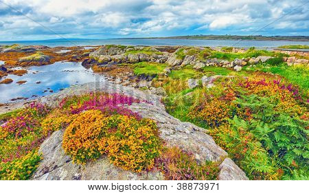 ireland landscape hdr