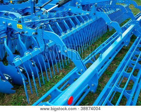 Parte de la nueva máquina agronómica