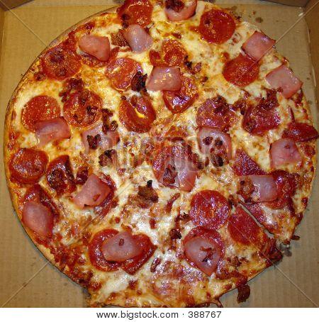 Pizza Pep Bacon Ham