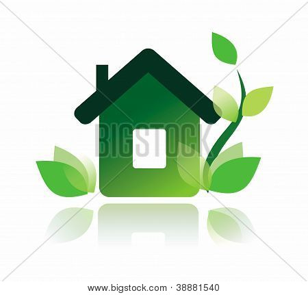 Eco Home Icon