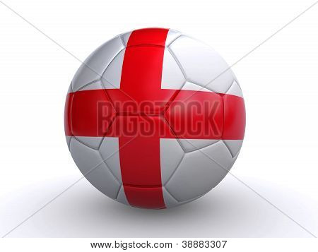 English Soccer Ball