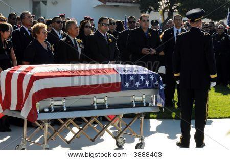 Fallen Soldier'S Casket