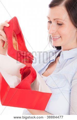 shoe makes happy