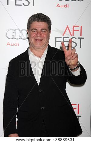 LOS ANGELES - NOV 3:  Gustavo Santaolalla arrives at the AFI Film Festival 2012