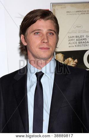 LOS ANGELES - NOV 3:  Garrett Hedlund arrives at the AFI Film Festival 2012
