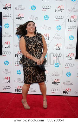 LOS ANGELES - NOV 4:  Jo Frost arrives at the AFI Film Festival 2012
