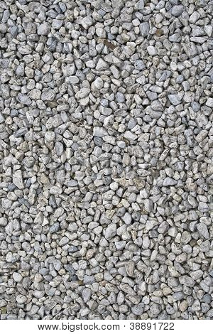 Details of gravel for construction