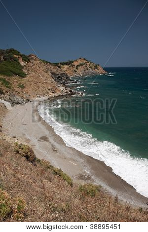 Rocky beach, Skiathios