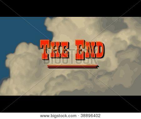 Movie ending screen - Western - JPG Version