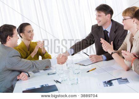 Fazendo um negócio