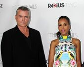 LOS ANGELES - OCT 29:  Ray Liotta, Kerry Washington arrives at