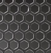 stock photo of octahedron  - hexagonal grid macro - JPG